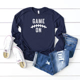 Game On | Long Sleeve Graphic Tee