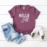 Hello Fall | Short Sleeve Graphic Tee