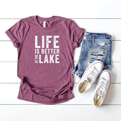 Life is Better at the Lake | Short Sleeve Tee