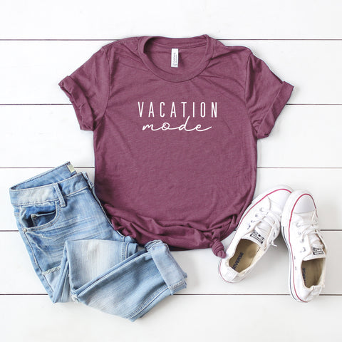 Vacation Mode | Short Sleeve Graphic Tee