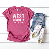 West Virginia Home Grown | Short Sleeve Graphic Tee