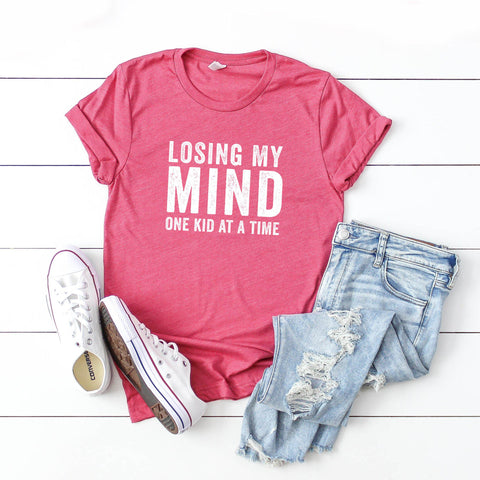 Losing my Mind one Kid at a Time | Short Sleeve Graphic Tee