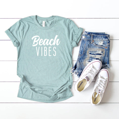 Beach Vibes | Short Sleeve Graphic Tee