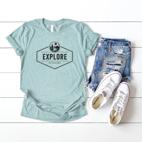 Explore | Short Sleeve Graphic Tee