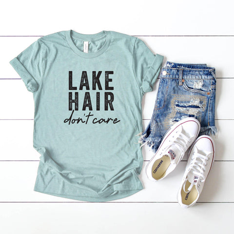 Lake Hair Don't Care | Short Sleeve Tee