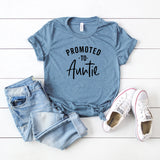 Promoted to Auntie | Short Sleeve Graphic Tee