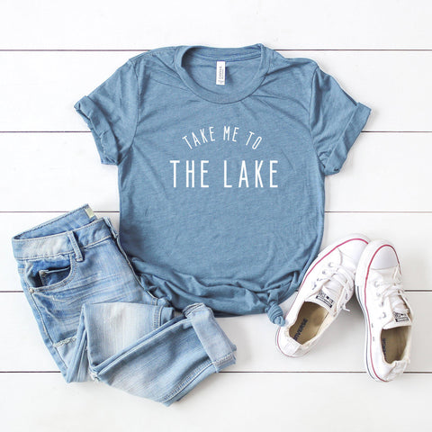 Take Me to the Lake | Short Sleeve Tee