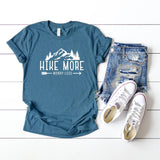Hike More Worry Less | Short Sleeve Graphic Tee