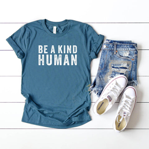 Be A Kind Human | Short Sleeve Tee