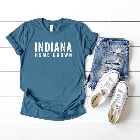 Indiana Home Grown | Short Sleeve Graphic Tee