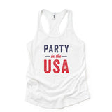 Party in the USA | Raceberback Tank