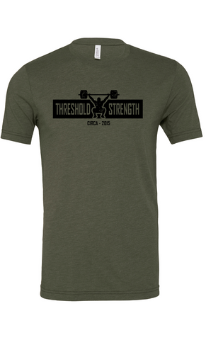 Threshold Strength Logo Triblend Tee