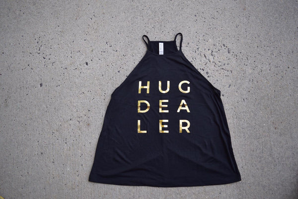 Hug Dealer Flowy High Neck Tank