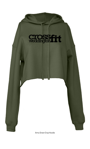 CrossFit Weddington Crop Hoodie