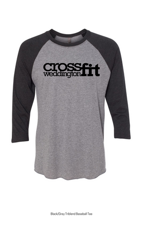 CrossFit Weddington Unisex Baseball Tee