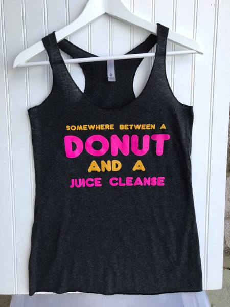 Somewhere Between a Donut and a Juice Cleanse Tank