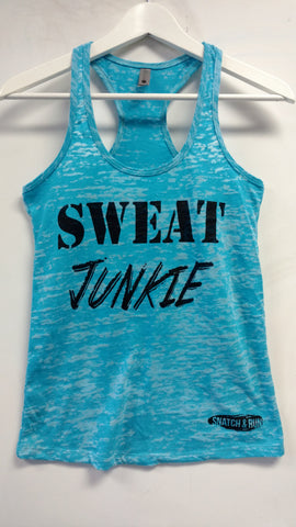 SWEAT Junkie Burnout Tank