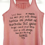 Favorite Things Flowy Tank