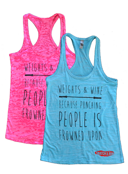 Weights & Wine Tank