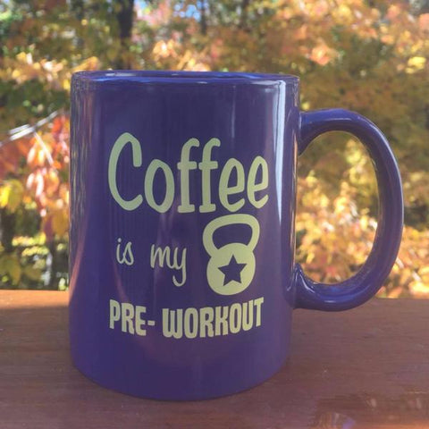Purple Coffee Is My Pre-Workout Mug