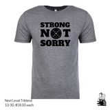 Wholesale Listing- Strong Not Sorry