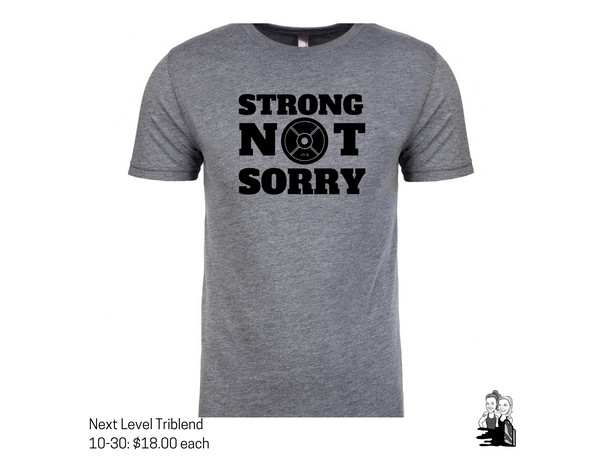 Custom Listing- Strong Not Sorry Feb 2020 2