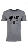 Grey AMRAP Drinking T-Shirt