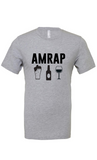 Light Grey AMRAP Drinking T-Shirt