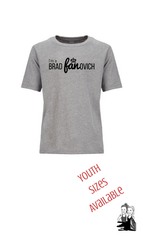 Youth I'm a Fanovich Short Sleeve Tee