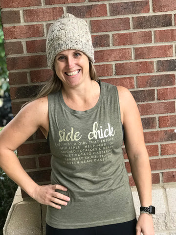 Side Chick Muscle Tank