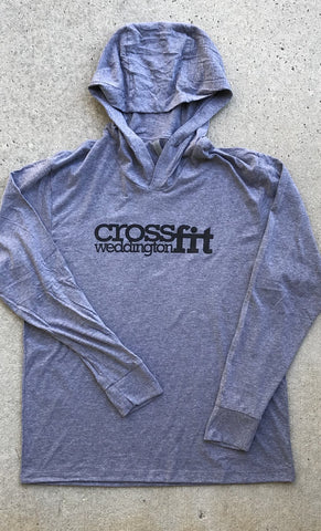 CrossFit Weddington Triblend Hoodie T-Shirt
