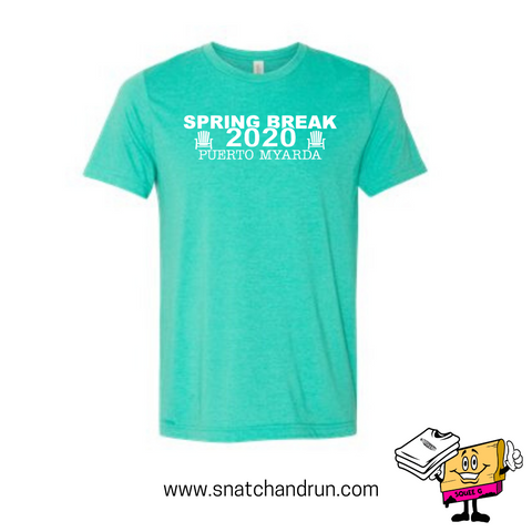 Adult Spring Break 2020 Teal