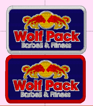 Custom Listing- Wolfpack Patches