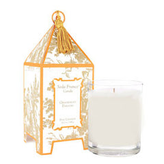 Grapefruit Paradis Classic Toile Pagoda Box Candle