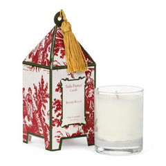 Berries Rouge Classic Toile Pagoda Box Candle