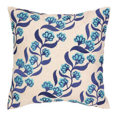 Diagonal Blossom Pillow
