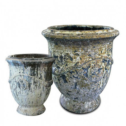 French Planter Large and Small Pottery