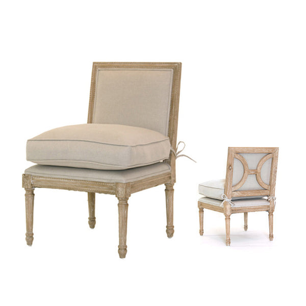 French Slipper Chair