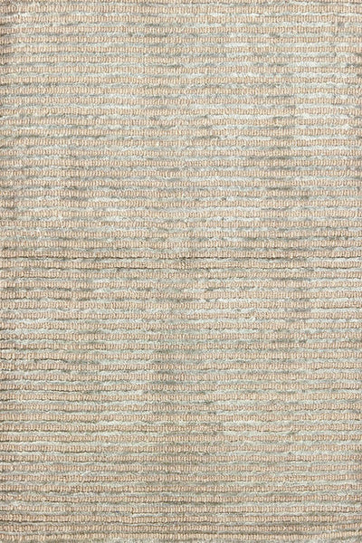 Cut Stripe Ocean Hand Knotted Rug