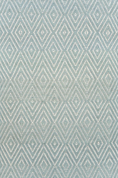 Diamond Light Blue/Ivory Rug