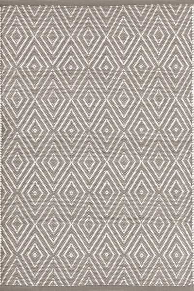 Diamond Fieldstone/Ivory Rug