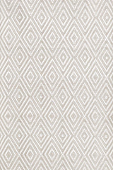 Diamond Platinum/White Rug
