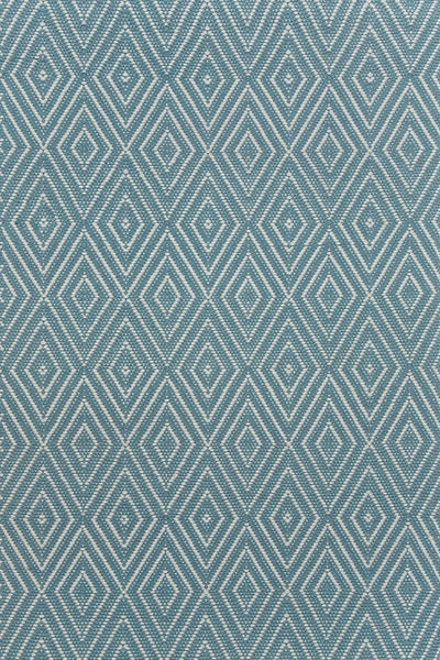 Diamond Slate/Light Blue Rug