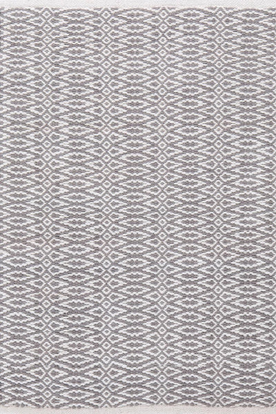 Fair Isle Grey/Platinum Cotton Rug