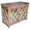 Antique Glass Chest