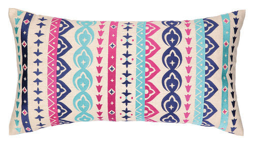 Jewel Stripe Pillow