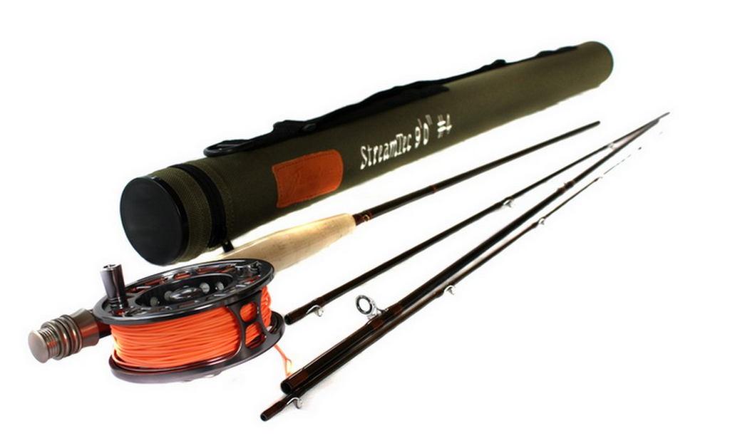 Streamtec 4 Piece Fly Rod & Aerotec Reel Package