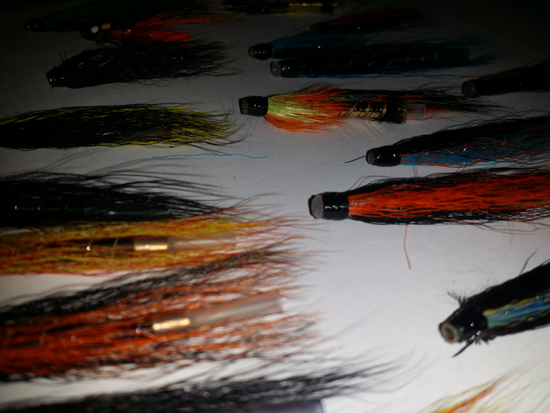 20 x Assorted Tube Fishing Fly Selection