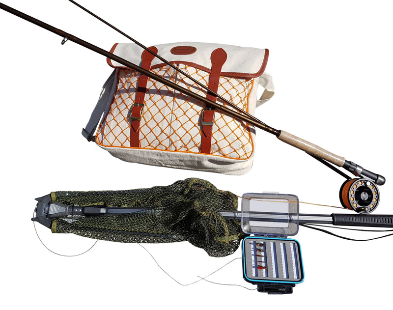 Starter Beginners Fly Fishing Kit - Premium