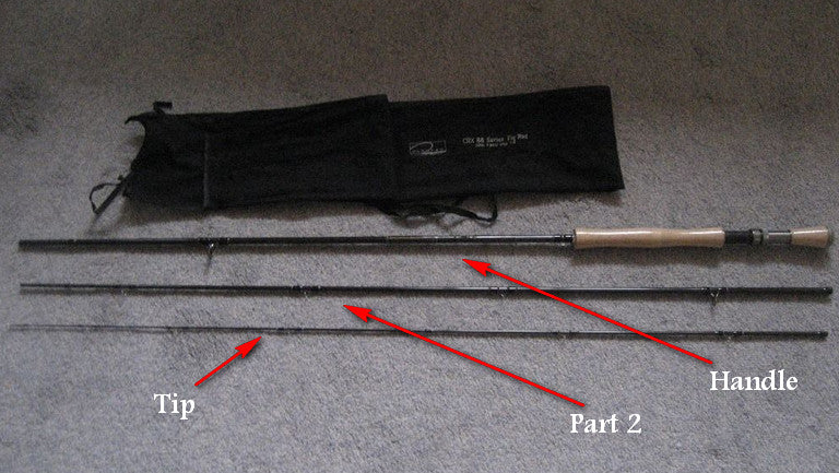 Spare Parts for the CRX88 3 Piece Fly Rod